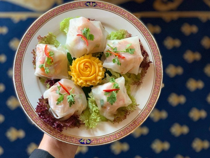 Thai noodle Dusit Thani Dubai