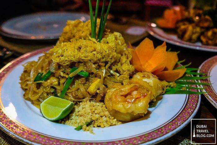 pad thai noodles dusit thani dubai
