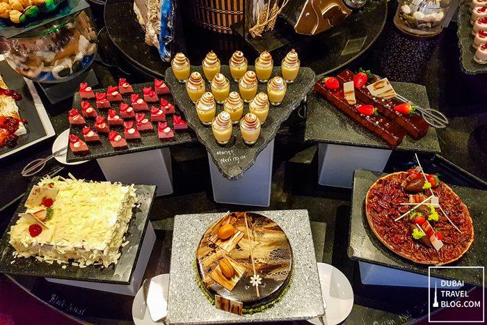 pergolas restaurant desserts