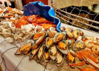 seafood buffet pergolas picture