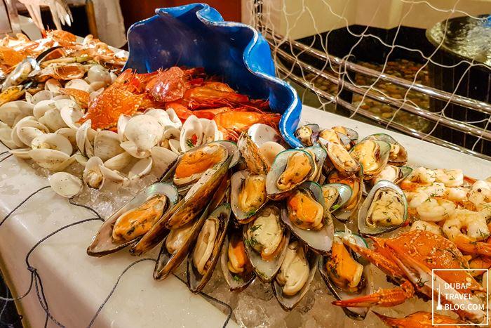 seafood buffet pergolas