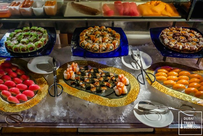sushi at pergolas roda al murooj