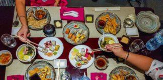sushi teppanyaki night minato dubai