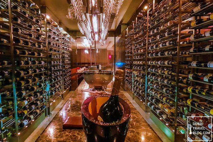 walk in wine cellar teatro dubai