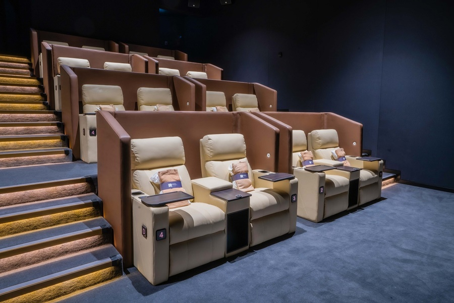 Reel Cinemas' Al Ghurair Centre is now fully open (Platinum Suites 2)