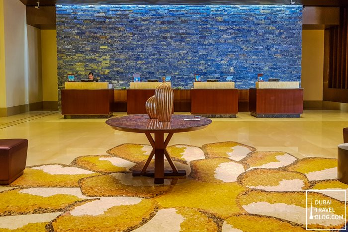 Swissotel Al Ghurair Dubai lobby