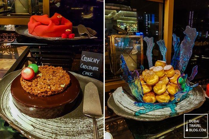 dubai h hotel desserts