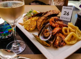 dubai h hotel eat and meat restaurant