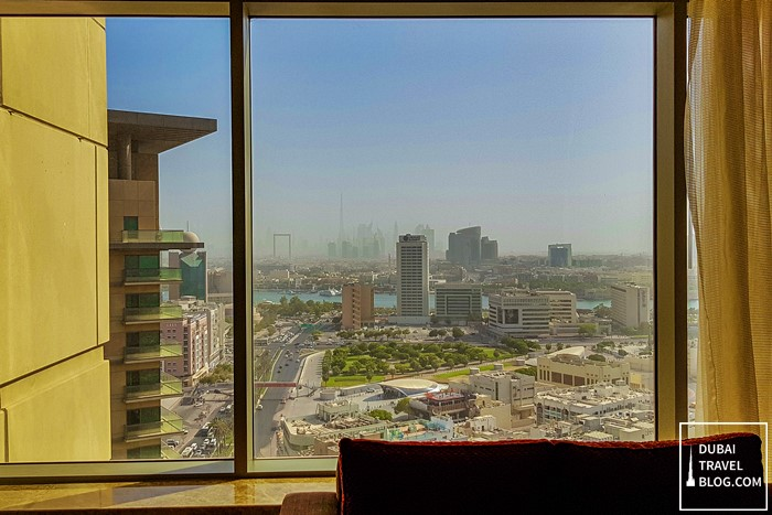 dubai view from swissotel al ghurair