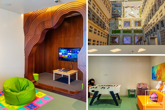 hyatt place dubai kids area