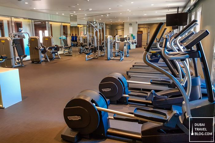hyatt place dubai wasl gym fitness