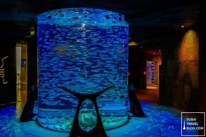 lost chambers aquarium dubai