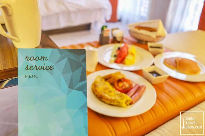room service breakfast hyatt place dubai wasl