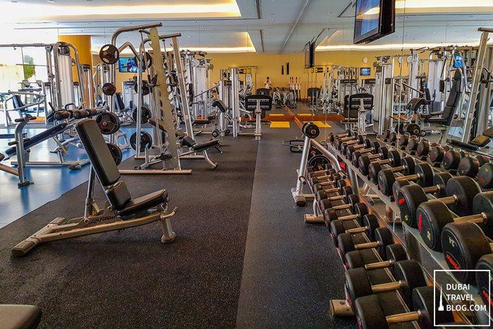 swissotel al ghurair fitness centre