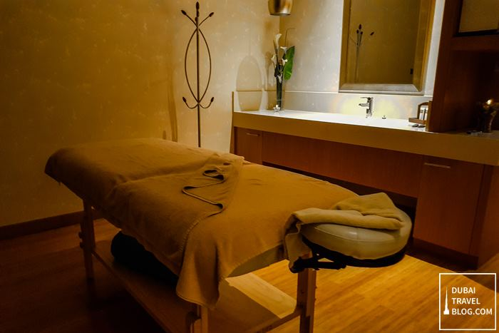 swissotel al ghurair spa massage