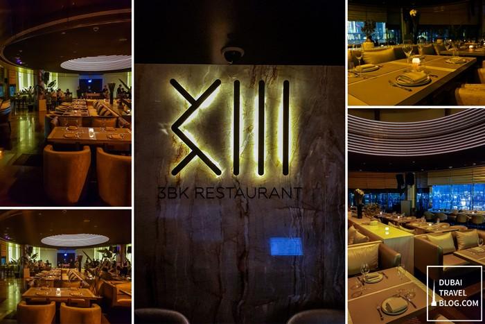 3BK restaurant interior
