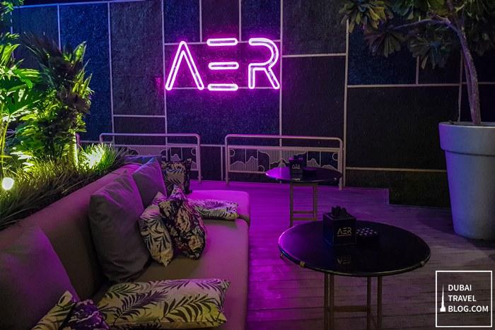 AER Dubai DIFC lounge