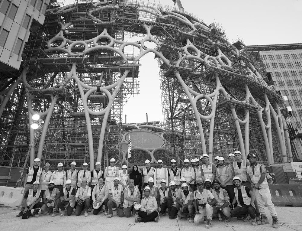 Al Wasl Dome staff