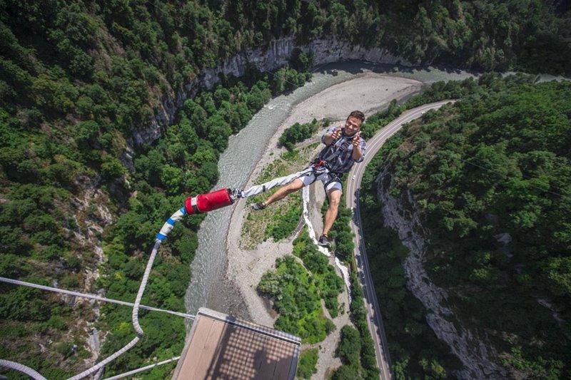 Bungee Jumping Russia Sochi