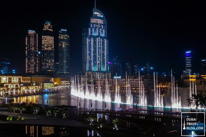 Dubai Water Fountain 3BK Armani Hotel