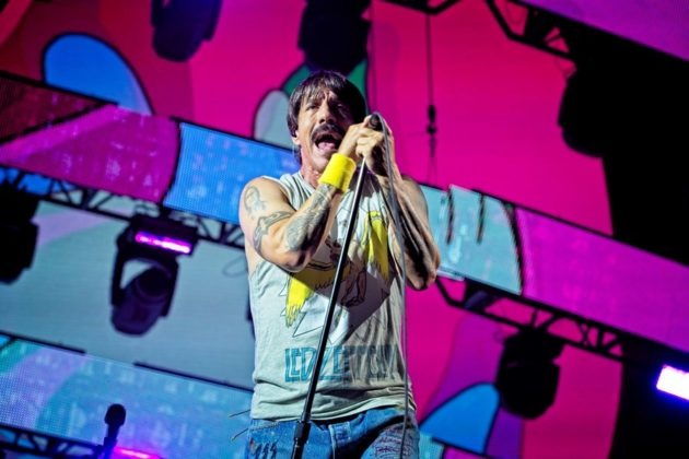 RHCP frontman Anthony Kiedis