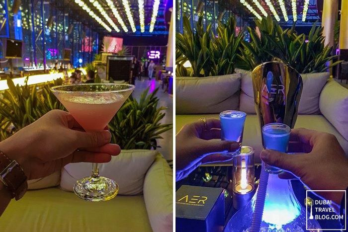 aer cocktail shisha dubai