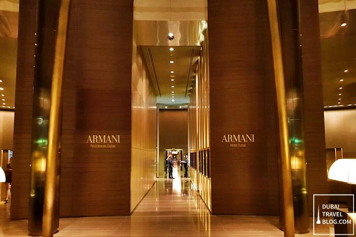 armani hotel lobby