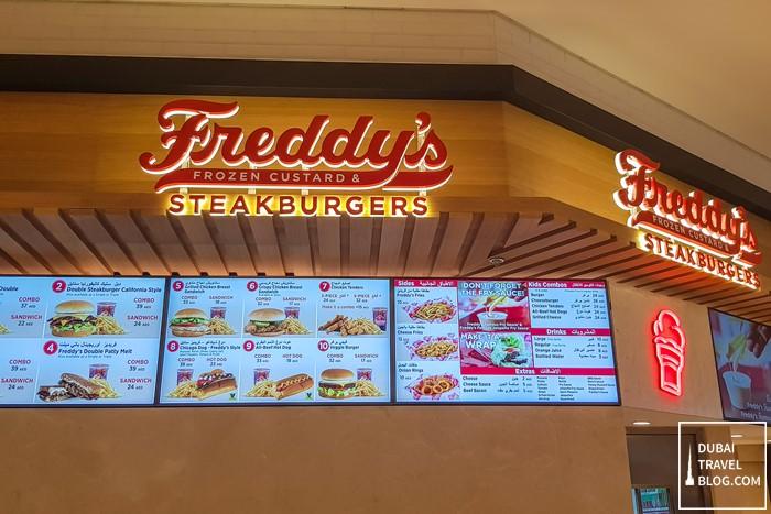 freddys steakburgers dubai