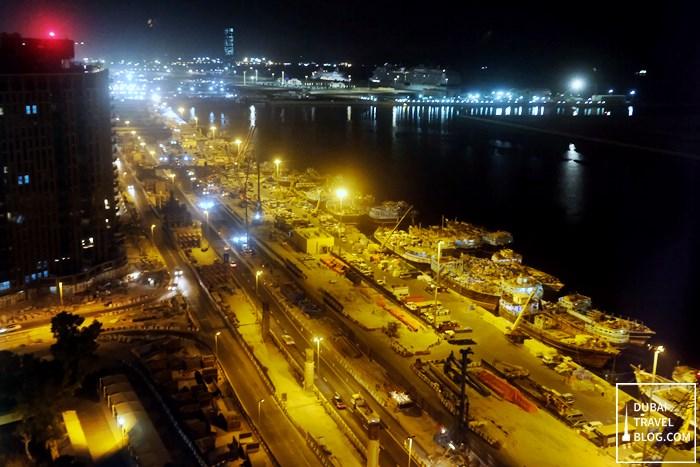view of Dubai Corniche