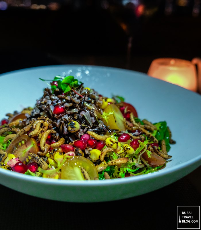 wild rice salad 3bk dubai restaurant