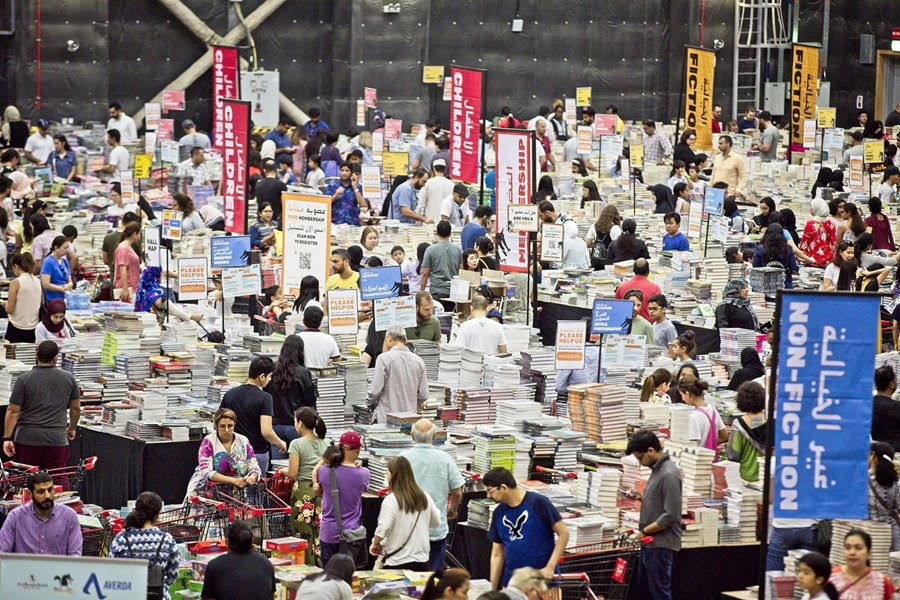 Big Bad Wolf Book Sale in Dubai