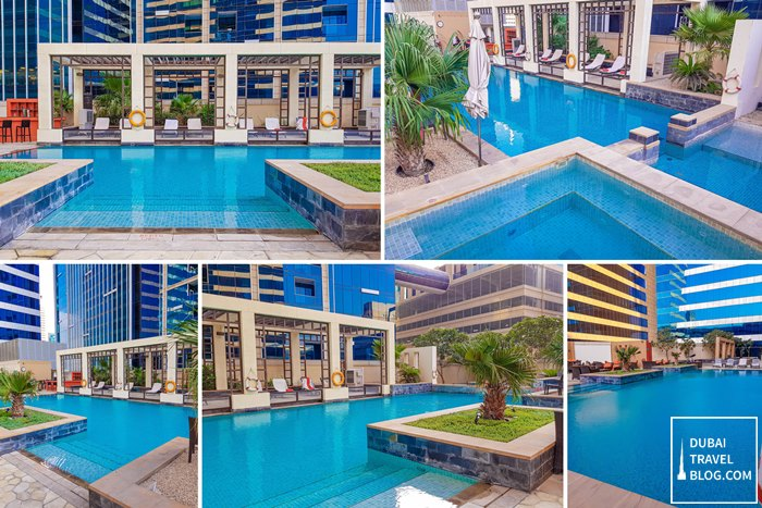 The H Dubai Hotel Pool