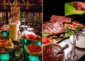 bambooda restaurant fusion thai latin theme night dinner