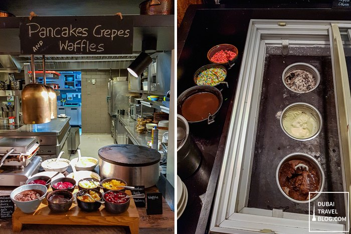 breakfast buffet eat & meat the h dubai
