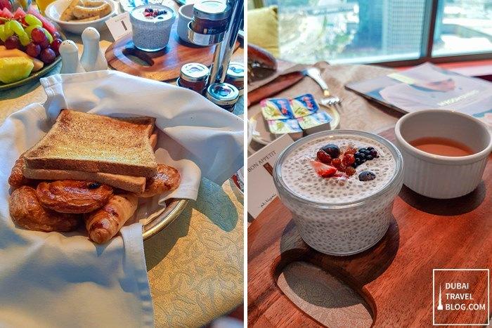 breakfast inside our room h hotel dubai