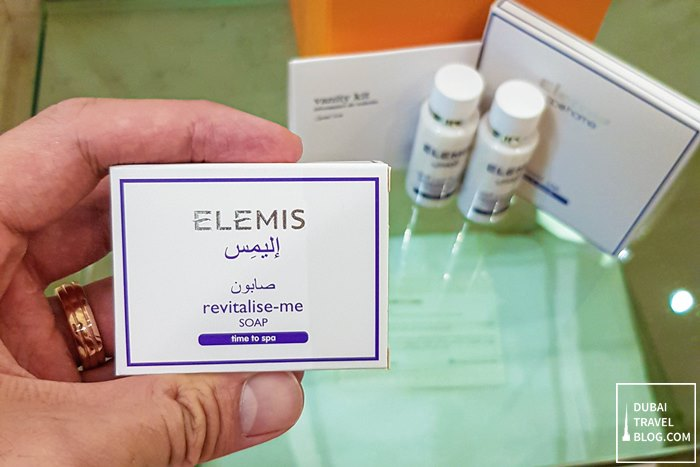 elemis toiletry the h dubai