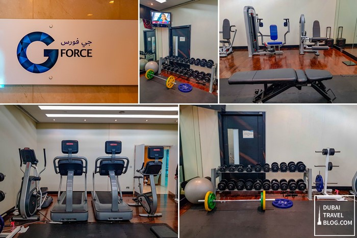 fitness center airport dubai international hotel