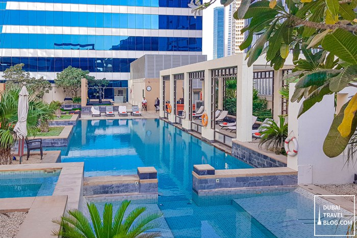 the h dubai pool