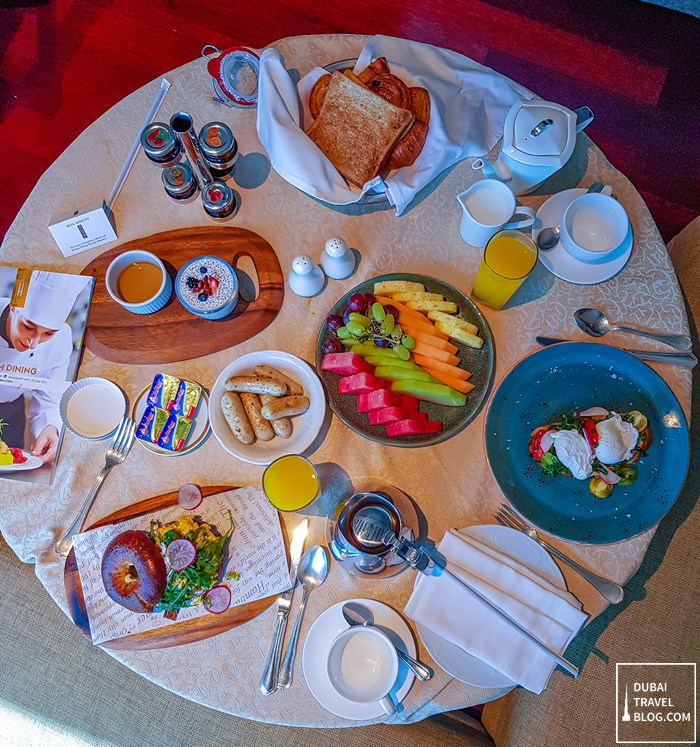 the h dubai room service