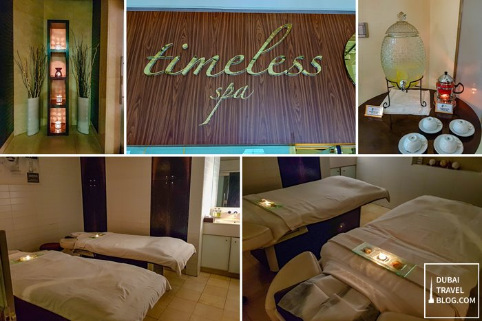 timeless spa dubai massage airport