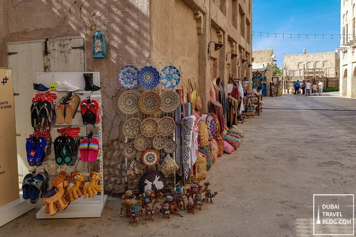 Al Seef Dubai shops