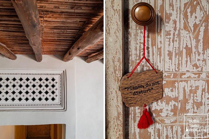 Al Seef Heritage Hotel Door