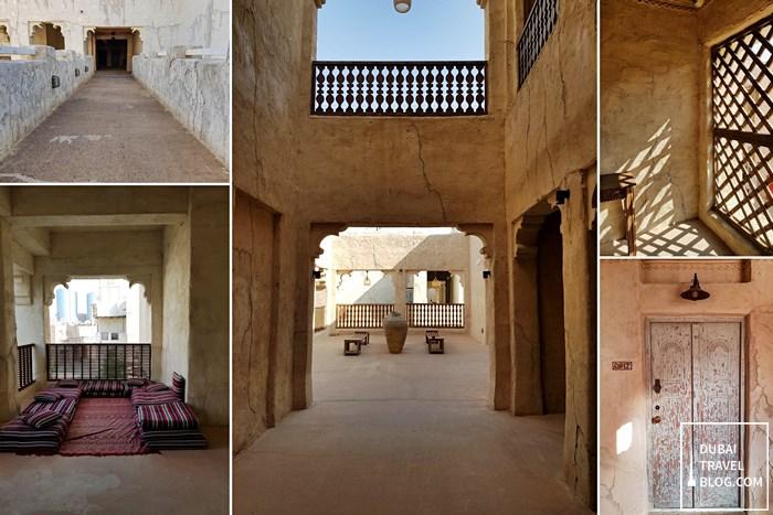 Al Seef Heritage Hotel Dubai open area