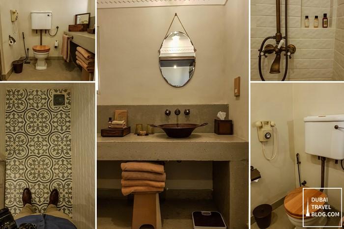 al seef heritage hotel bathroom