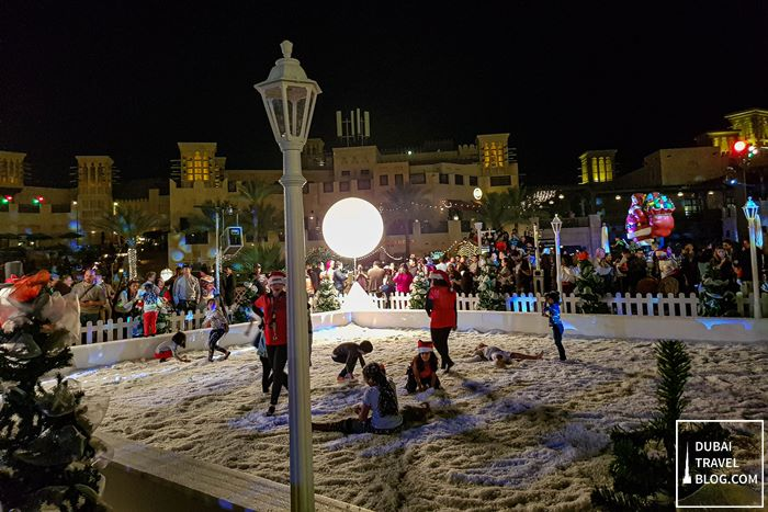 children's snow play area madinat jumeirah