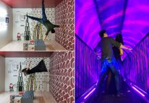 dubai museum of illusions photo