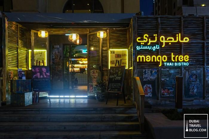 mango tree thai bistro dubai