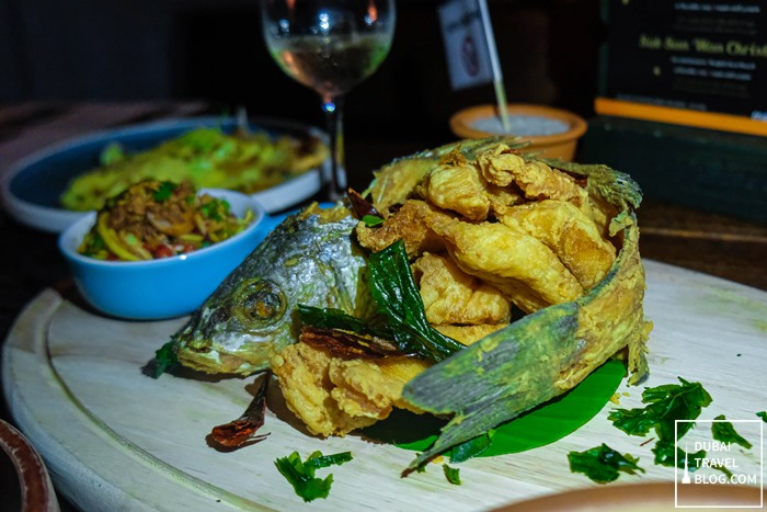 mango tree thai sea bass