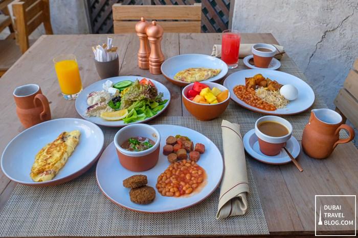 saba'a restaurant breakfast