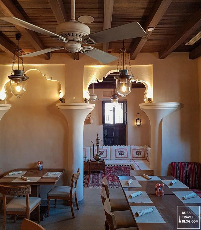 saba'a restaurant interior